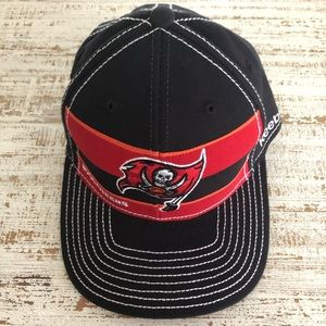 Fitted Black & Red Tampa Bay Buccaneers Hat